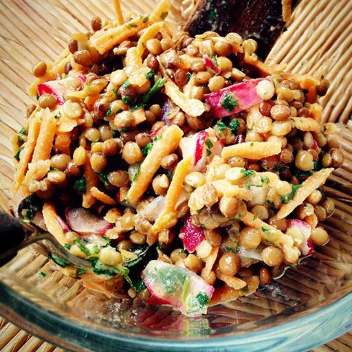 Lenticchie in insalata