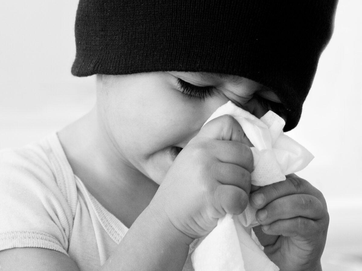 Se il bambino è raffreddato: rimedi macrobiotici