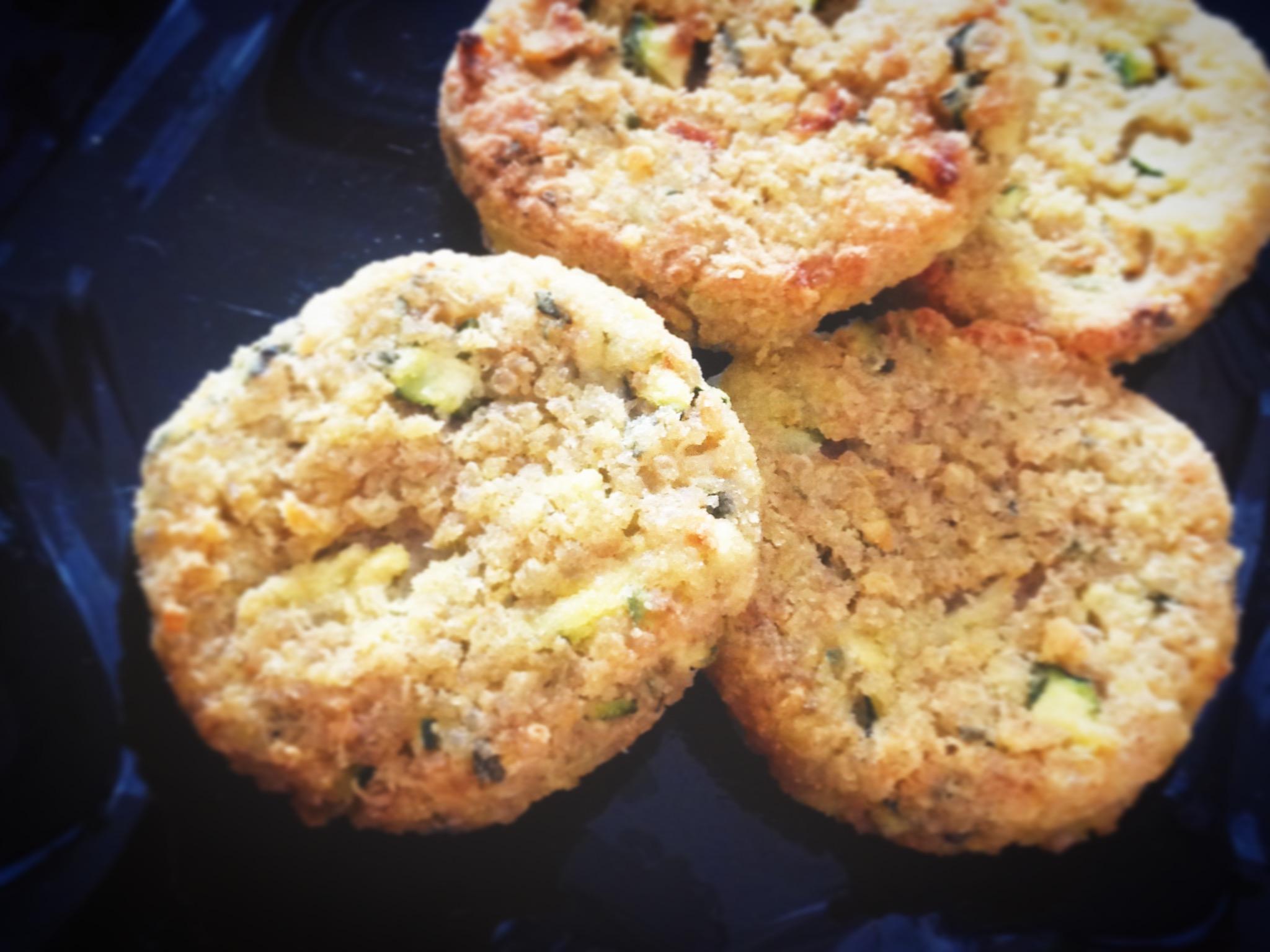 Crocchette di quinoa, ceci e verdurine. GLUTEN FREE!