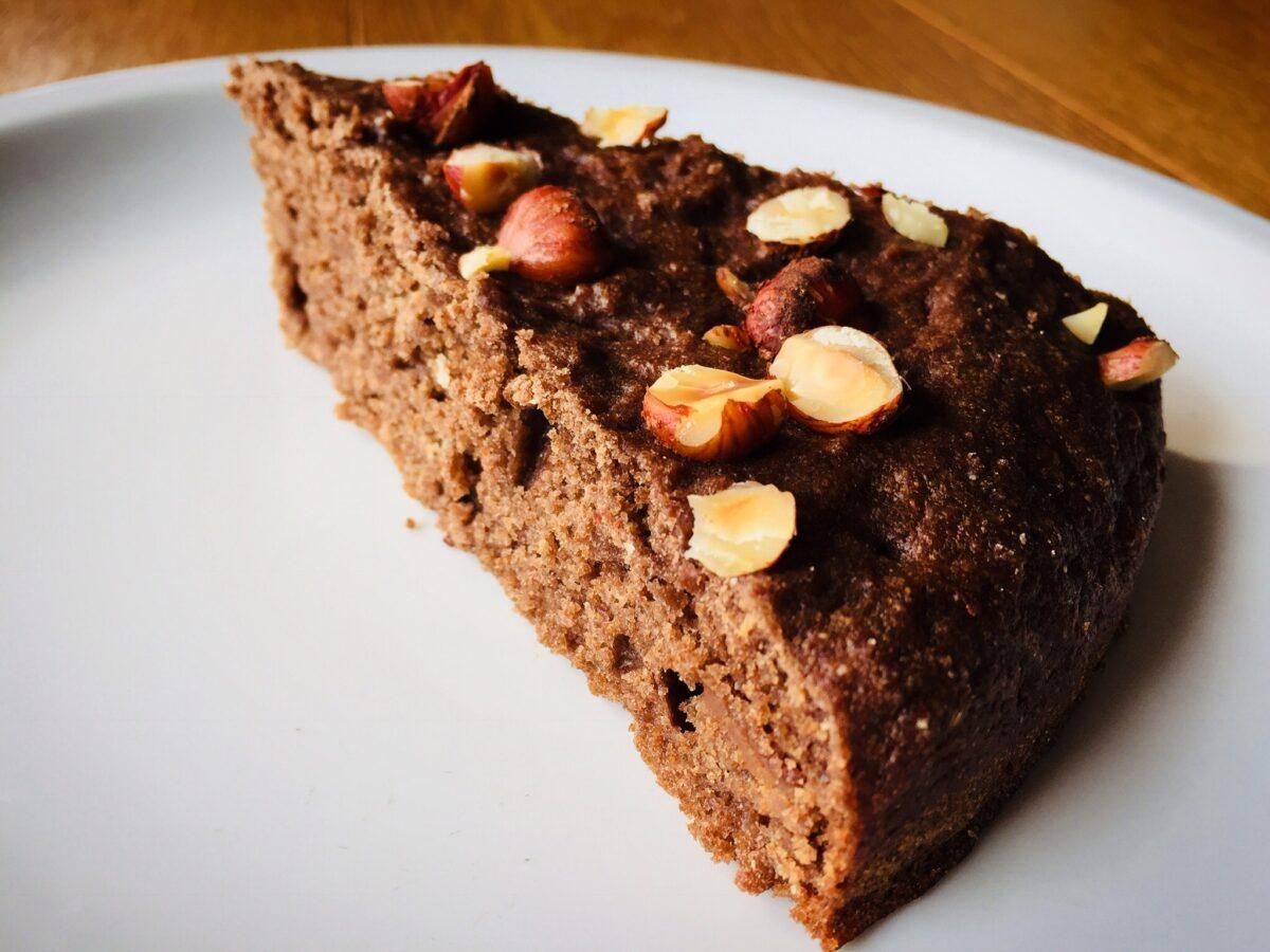 Torta Pere Cioccolato con Nocciole
